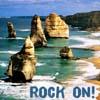 """lilacsigil: 12 Apostles rocks, text """"Rock On"""" (12 Apostles)"""