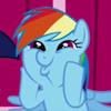 karenhealey: Rainbow Dash overcome with excitement (My Little Pony) (Default)
